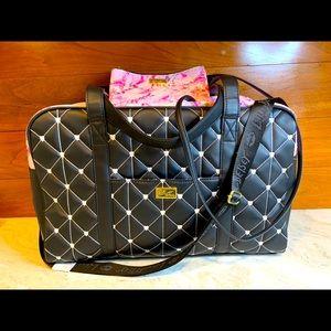 Betsey Johnson Weekender Travel Duffel Bag bonus